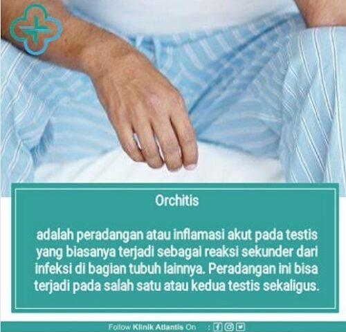 Orchitis Masalah Testis