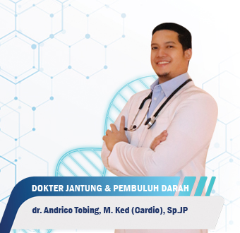 Dokter Andrico Tobing, M.Ked (Cardio), Sp.JP