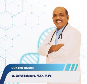 Dokter Saiful Batubara, M.KK, M.Pd