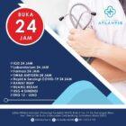 Klinik Atlantis Buka 24 Jam